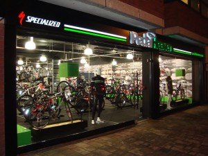 Image of Pedal Heaven shopfront