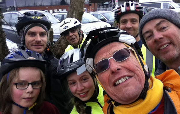 pedal2gether ride at Fleet Station