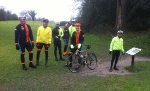 Fleet Cyclists at Silchester