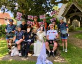Sunday club ride to Four Marks